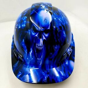 Hard Hat Cap Style Custom Hydro Dipped Osha Approved Ice Skull Limited Edition
