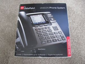 Brand New Rca Unison U1000 Dect 6 0 4 line Base Station Only Phone System