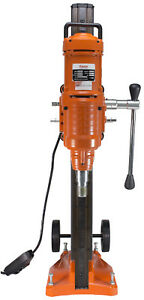 Cayken 10 Diamond Core Drill Rig With 580f Adjustable Angle Vacuum Plate Stand