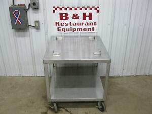 Delfield Stainless Steel Lincoln 1301 Conveyor Pizza Oven Equipment Stand Table