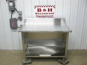 Win Holt 4 Stainless Steel Heavy Duty Work Table Kitchen Cabinet 48 X 30