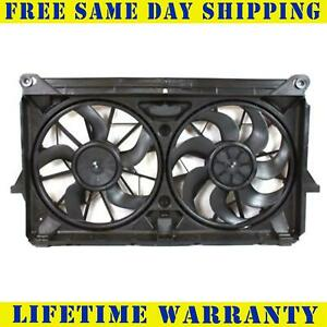 Radiator And Condenser Fan For Gmc Sierra 2500 Hd Chevrolet Gm3115212
