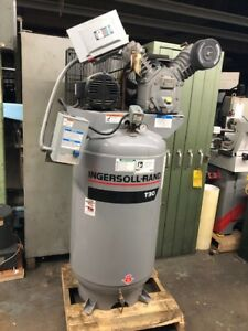Ingersoll Rand Type 30 7 5 hp 80 gallon Two stage Air Compressor