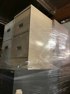 Excellent 2 Drawers Metal File Cabinets Qty Of 4 Cabinets Total