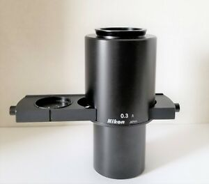 Nikon Tms Microscope Elwd 0 3 A Phase Contrast Condenser Slider