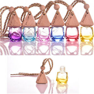 New Printed Hot Perfume Air Freshener Bottle Diffuser 2016 Fragrance Car Hanging
