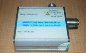 Marconi Instruments Ifr Aeroflex 6240f 10 Mhz To 20 Ghz N f Fault Locator