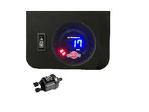 V Digital Air Ride Gauge Display Panel 1 Switch 220psi Suspension System