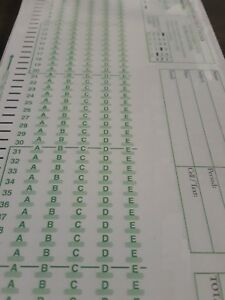 Scantron 882 E Lovas Compatible Testing Forms choice 50 100 500 Pack