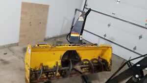 Erskine 1812 Skid Steer Snowthrower Snowblower Snow Thrower 66 Wide Bobcat