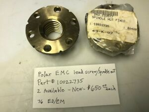 Polar Paper Cutter Emc Lead Screw spindle Nut