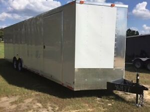 8 5 X 28 Movable Storage Car Hauler Enclosed Trailer