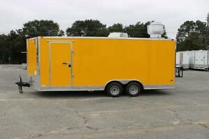 New 8 5x20 Bbq Concession Or Food Truck Trailer