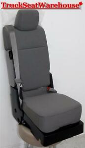 Center Console Fold Down Jumpseat Van Add A Seat 2016 Ford F150 Truck