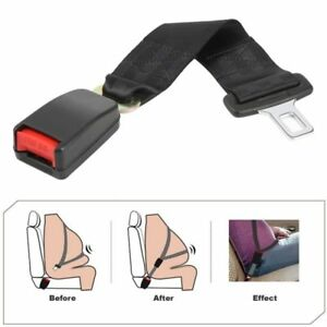 Universal 14 Car Auto Seat Seatbelt Safety Belt Extender Extension 7 8 Buckle Pw