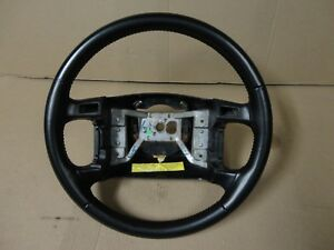 94 95 96 Ford Pickup Truck Bronco Factory Leather Steering Wheel Xlt