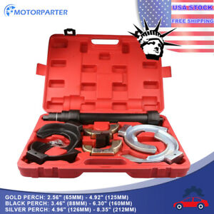 Macpherson Interchangeable Fork Spring Compressor Tool Kit For Coil Springs