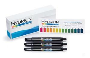 3 Pack Hydrion P 12m Insta Chek 0 13 Range Mechanical Ph Pencils Pens For