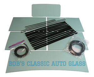 1930 1931 Ford Model A Tudor Sedan Classic Auto Glass Seals New Classic Flat