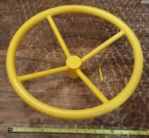 New 16 Diameter Valve Hand Wheel 3 4 Center Hole Roll Pin Shut Off Wheel