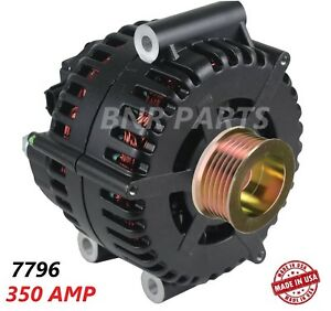 350 Amp 7796 Alternator Ford F Super Duty Excursion High Output Performance Hd
