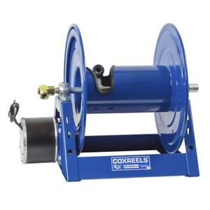 Coxreels 1125 5 200 e Competitor Reel Capable Of 200 Of 3 4 Hose 1 3 Hp 12v Dc