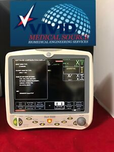 Ge Patient Monitor Dash 5000 Ecg Nibp Spo2 Co2 Ibp Cert 1 Yr Warraty Recorder