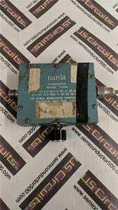 Narda 792 Variable Attenuator 2 To 12 4 Ghz 0 To 20 Db