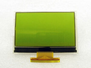 12864 Graphics Lcd Display Module 128x64 Dots Stn Black On Y green Backlight