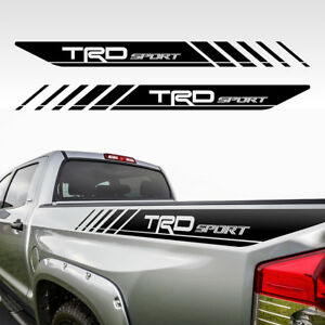 Trd Tacoma Sport Toyota Truck Decals Vinyl Precut Stickers Bedside Ry