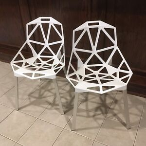 Magus Chair a White Pair Herman Miller Furniture Great Condition