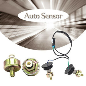 Knock Sensor For Chevy Gmc Silverado Sierra Cadillac 5 3l 6 0 W Harness