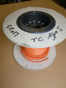 Cable For Thermocouple Type S Pvc 105 c Diameter 5mm 20 Meter Lenght