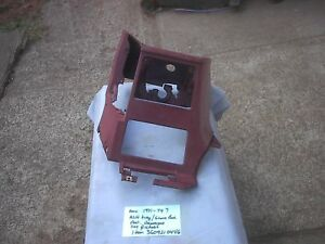Amc 1971 1974 Javelin Amx Maroon Color Center Glove Box Ash Tray Dash Panel