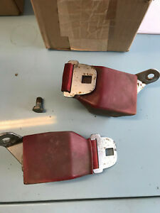 1965 Ford Galaxie Red Front Seat Belt Retractors