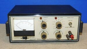 Heath Kit Ip 27 Regulated Low Voltage Power Supply Heathkit Ham Two way Radio