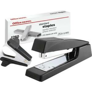 Stapler Combo W staples And Remover Blk