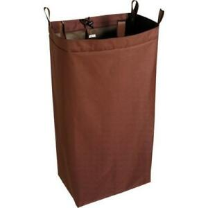 Housekeeping Cart Polyester Replacement Bag Brown