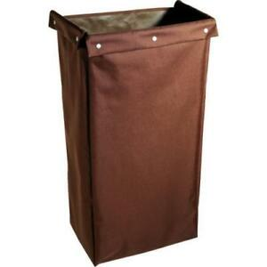 Housekeeping Cart Polyester Replacement Bag Brown 30 h