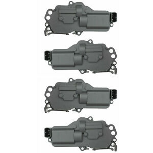 Set Of 4 Power Door Lock Actuators Kit For Ford F150 F250 F350 Excursion Mercury