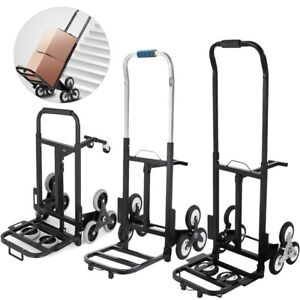 New Portable Stair Climbing Folding Cart Climb Hand Truck Dolly