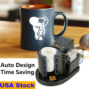 Mug Cup Heat Press Machine Coffee Cup Water Bottle Transfer Sublimation Digital