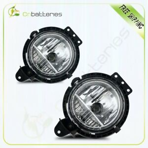 For 2007 2015 Mini Cooper Fog Light Clear Lens Lamp Assembly Replacement
