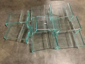 Lot 9 Store Shoe 5 H Display Holder Acrylic Plastic Stand Riser Rack 9 6 5