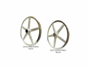Butcher Boy Sa20 Upper And Lower Band Saw Wheels Pulleys New Bb113u Bb114l