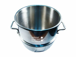 Mixer Bowl For 30 Quart Hobart Mixers Replaces 437410 Stainless Steel