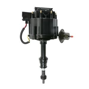 Tsp Jm6502abk Small Block Ford Hei Distributor Black Cap And Body