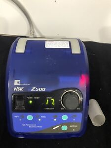 Dental Lab Nsk Z500 Handpiece Console Made In Japan