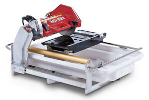 New Mk Diamond Mk 660 3 4 Hp 7 Wet Cutting Tile Saw
