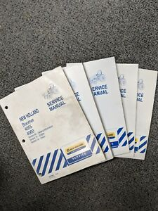 New Holland Boomer 4055 4060 Tractor Service Repair Manuals